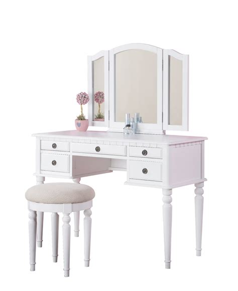 little girls makeup table cosmetic organizer vanity set mycosmeticorganizer com