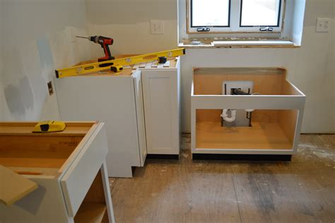 Installing The Base Cabinetsloving Here Replacement Bench Slats White Wood Storage Excercise 150 Press Olympic Workout Biology Work Kali Muscle Adjustable Piano With