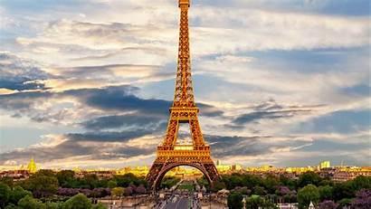 Paris France Tower Eiffel Background Widescreen Showplace