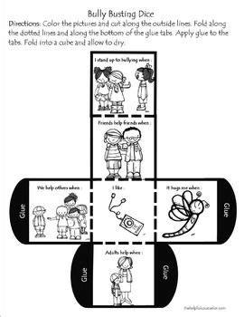 bullying activity pack bullying bullying activities