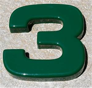 formed plastic specs for numbers letters With plastic house numbers and letters