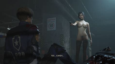 Claire Nude Mod Playthrough