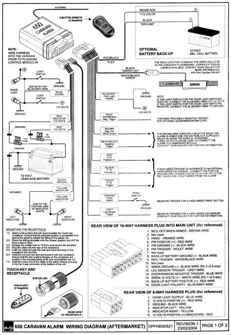 Elddi Caravan Wiring Diagram by Abacus Car Alarms
