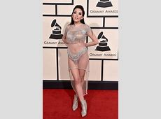 Check out the most outrageous looks at the 2016 Grammy