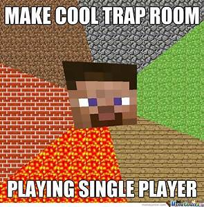 Make Cool Trap Room, Playing Single Player - Minecraft ...