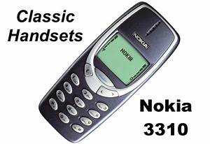Classic Handsets  The Nokia 3310