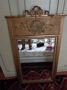 Grand Miroir Vintage : grand miroir truemau ancien vintage d 39 occasion ~ Teatrodelosmanantiales.com Idées de Décoration