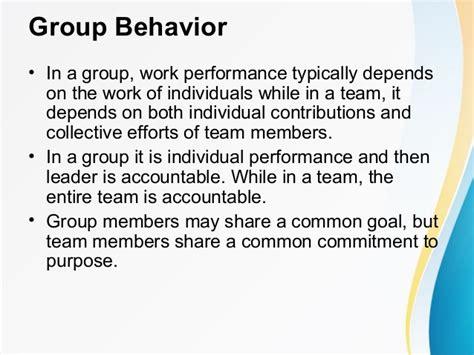 behavior performance decision making