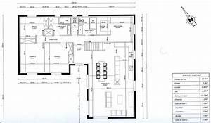 Numéro De Maison Design : photo plan de maison en l 3 chambres 1 bureau maison ~ Dailycaller-alerts.com Idées de Décoration