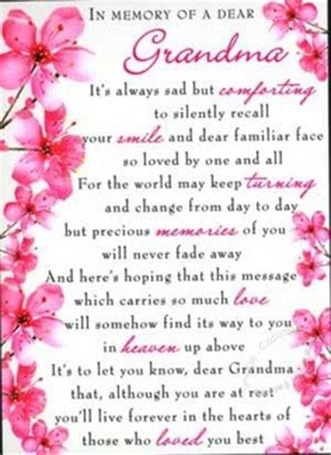 memory  grandma quotes quotesgram