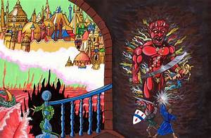 Painted Reproductions Of Original Advanced Dungeons
