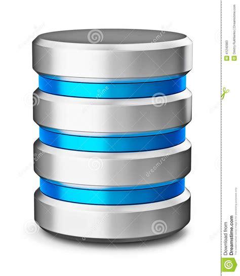 Symbol för symbol för databas för lagring för data för ...