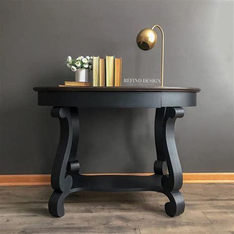 Table Refinish Using Walnut & Lamp Black   General