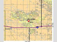Meridian Idaho Zip Code Map MAP