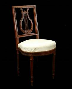 4 french louis chairs lyre back side or dining ready for for Armchair side covers