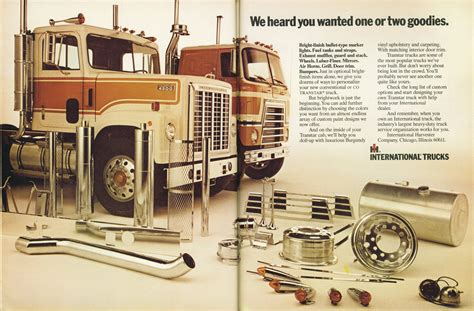 1972 april international trucks overdrive magazine truck trucker 1973 american ad 1970s flashbak trucking magazines voice stop fotki