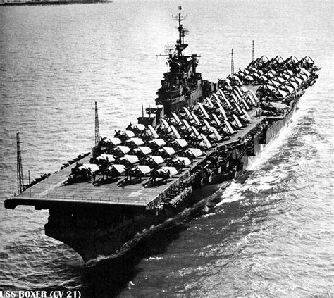 Us Fleet Carriers, Wwii Era