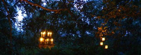 eclairage a la bougie eclairage du jardin bougie de f 234 te