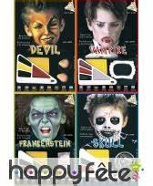 Maquillage Garcon Halloween : maquillage halloween gar on ~ Farleysfitness.com Idées de Décoration