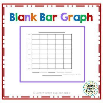 blank bar graph freebie st grade pinterest