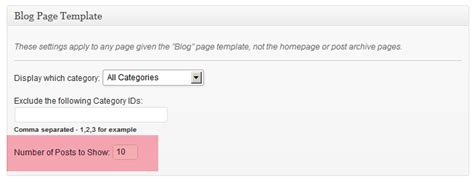 author page template genesis set post content limits for home blog archive pages