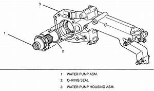 Northstar 1999 Water Pump Belt Diagram