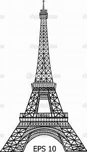 Eiffel Tower vector graphic | Arte | Pinterest