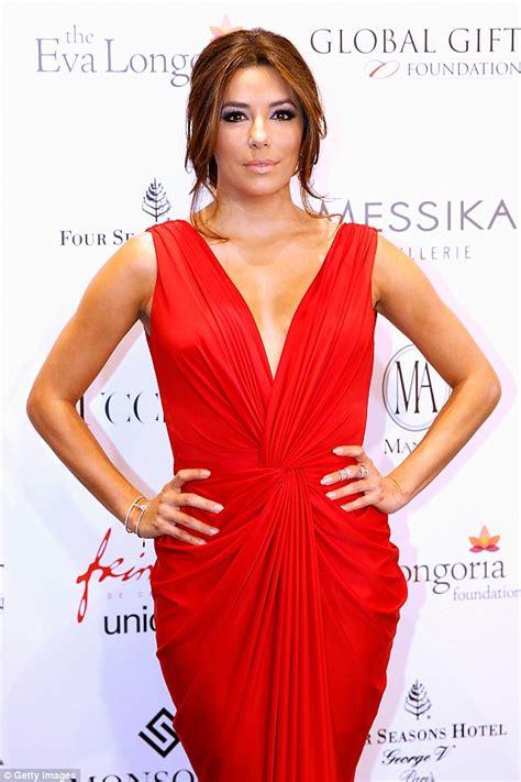 Eva Longoria's Red Dress