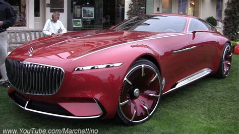 Maybach Car : Vision Mercedes-maybach 6 Being Driven With A Remote Control