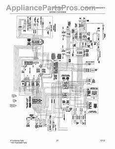 Parts For Frigidaire Fghb2735nf0  Wiring Diagram Parts