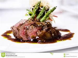 Gourmet Fillet Mignon Steak Royalty Free Stock Photography ...