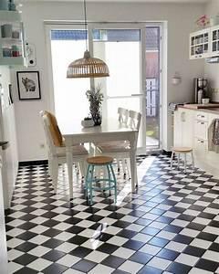 Fliesen Küche Boden : die besten 17 ideen zu fliesen schwarz wei auf pinterest badezimmer schwarz fliesen schwarz ~ Markanthonyermac.com Haus und Dekorationen