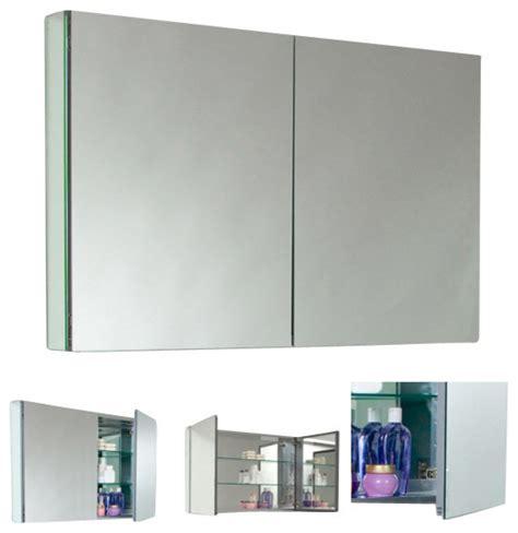 mirror medicine cabinet fresca fmc8010 40 inches wide bathroom medicine cabinet