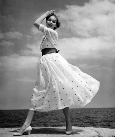 nifty fifties polka dots   lake  fashion