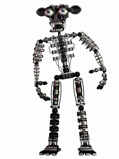 Fnaf Freddy Endoskeleton Withered Pizza Blender Coolioart