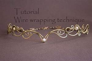 Wire Wrap Tutorial Tiara Tutorial Wire Wrapped Diadem