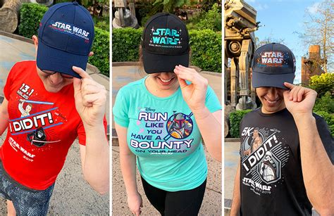 rundisney star wars rival run merchandise