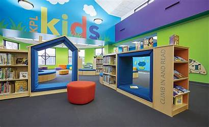 Library Kenosha Children Spaces Space Furniture Demco