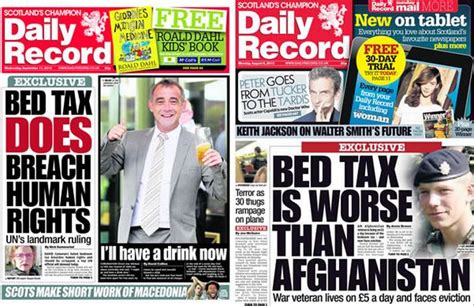 Bedroom Tax To Be Axed by Bedroom Tax Axed In Scotland Victims Of Con Dem S Vicious