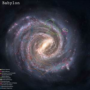 Milky Way Galaxy Map World - Pics about space