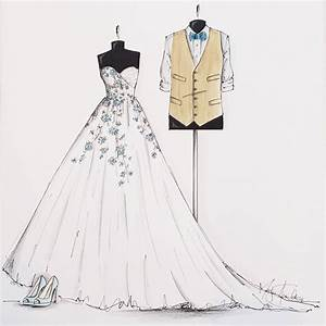drawn wedding dress formal dress pencil and in color With wedding dress drawing