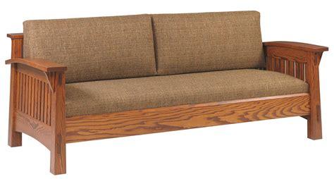 amish countryside mission sofa