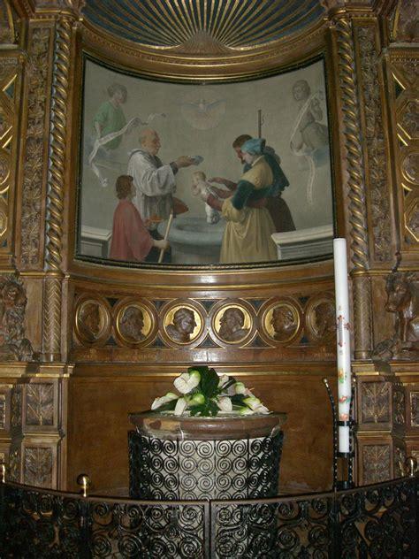 baptismal font  cathedral  san rufino cathedral