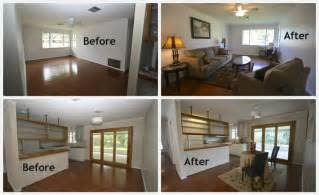 home design before and after staging can take your vacant home from cold to cool crescent city living
