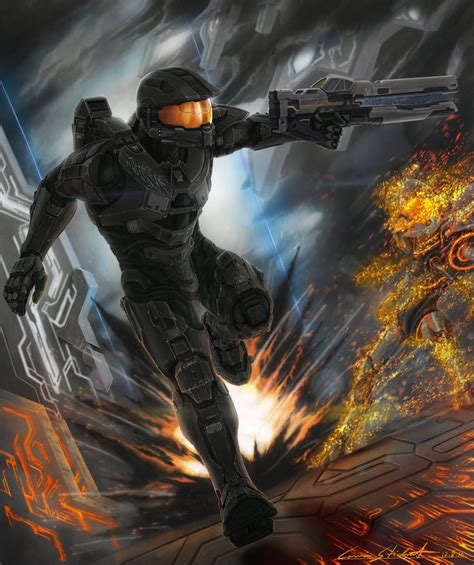 Halo117 By Ferain On Deviantart