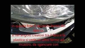 Smontaggio Faro Fiat Ducato X250