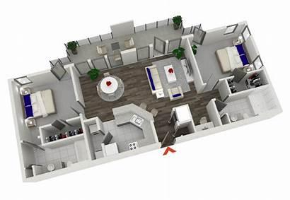 Apartment Bedroom Plans Apartments Studio Condo Atlanta