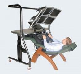 recline decline working ergonomics