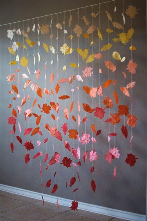 fall wedding backdrop dream wedding diy fall leaf