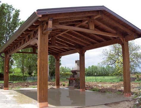 tettoie legno lamellare porticidea parma trecasali strutture in legno